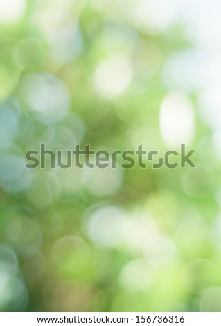 An abstract background with bokeh effects. - stock photo