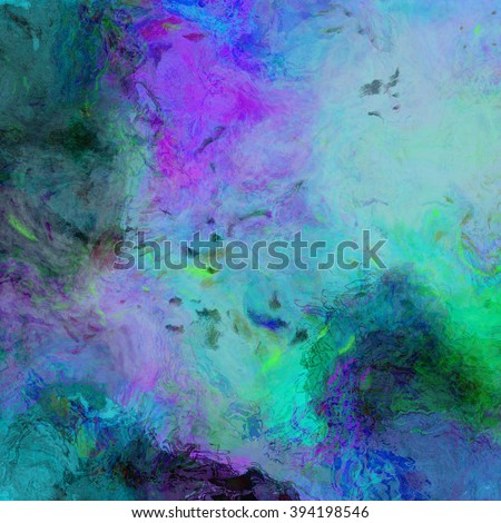 An abstract background with bright colors and wavy lines. - stock photo