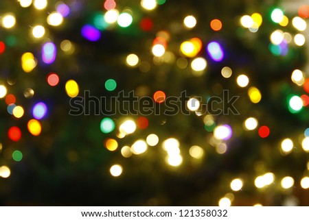 An abstract colorful christmas background - stock photo