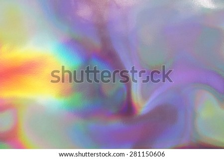 An abstract colorful holographic futuristic texture. - stock photo
