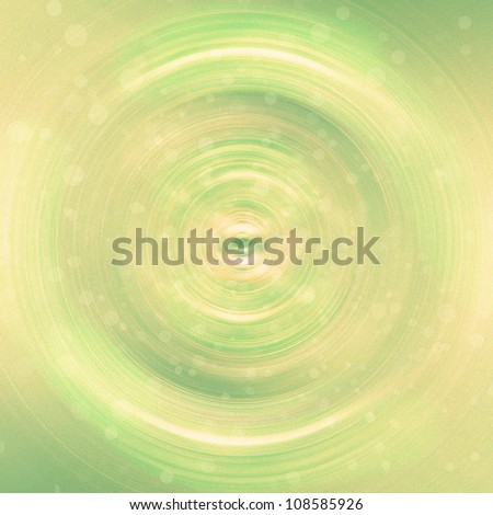 An abstract green circular background/texture - stock photo