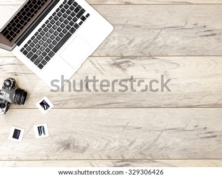 An abstract photo of modern digital photography - stock photo