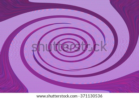 An abstract purple spiral background image. - stock photo