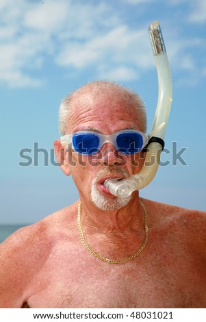 an active retired senior citizen enjoys outdoor and beach activities