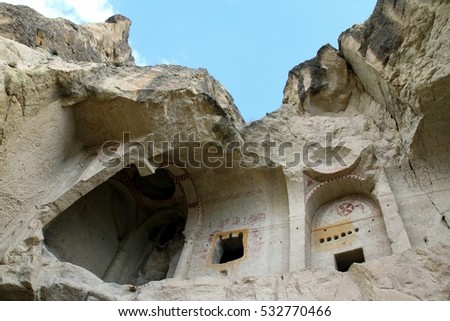 an ancient church in Cappadocia