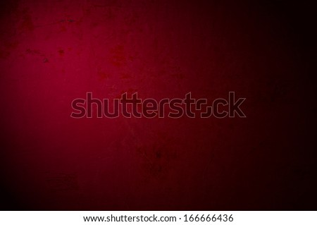 An antique dark red texture with light effect, to be used as background with images or light colored text. - stock photo