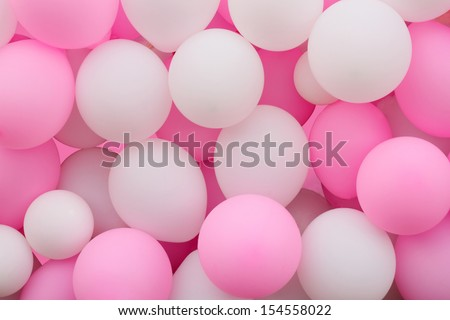 An array of colorful balloons for the celebration of any special occasion - stock photo