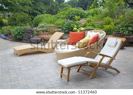 Garden Furniture Stock Images, Royalty-Free Images & Vectors ...