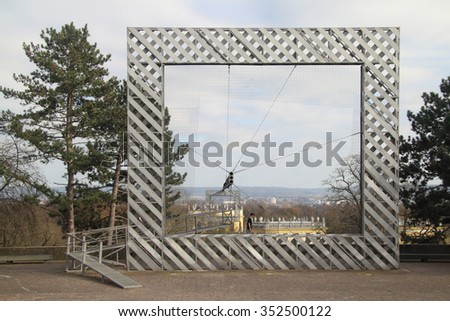 An attraction in the city of Kassel Documenta