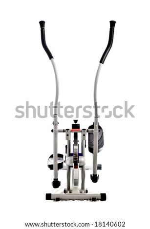 an elliptical stationary bike - stock photo