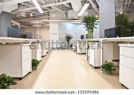 An empty office