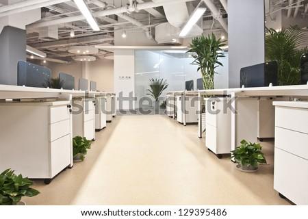 An empty office - stock photo