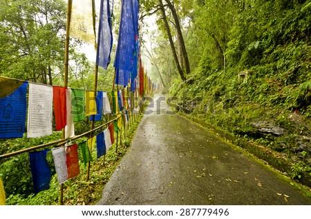 An Entry Near Namchi , Sikkim India. - stock photo