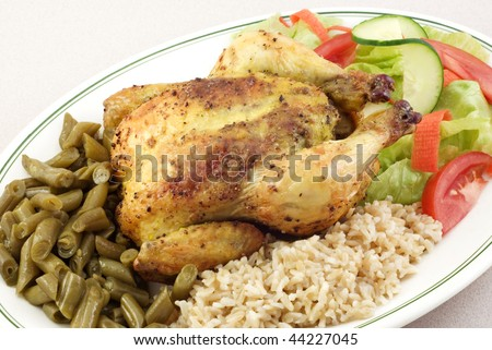 Cornish Game Hens With Prosciutto And Rosemary With White Beans Recipe ...