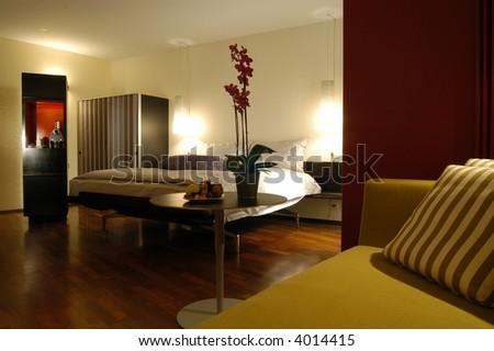 an hotel in Zurich - stock photo