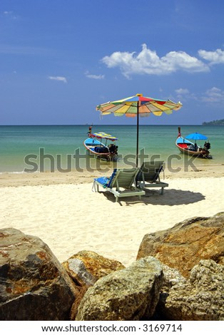 An idyllic place in Thailand. - stock photo