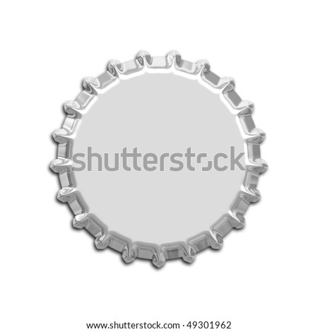 An illustration of a nice bottle cap - stock photo