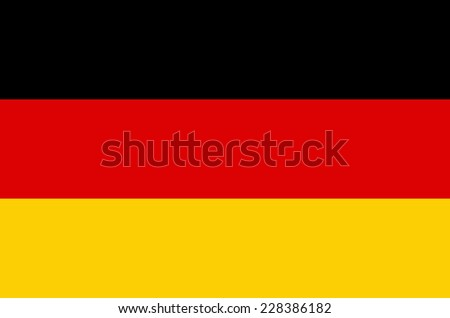 An illustration of the flag of Germany