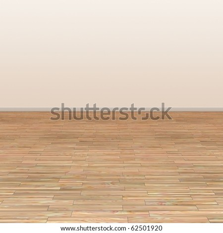 An image of a beautiful hardwood floor background - stock photo