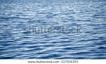 An image of a beautiful water waves background - stock photo