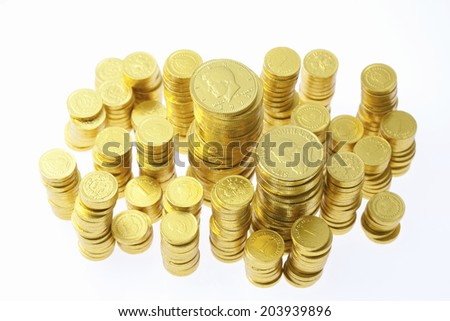 An Image of A Gold Coin
