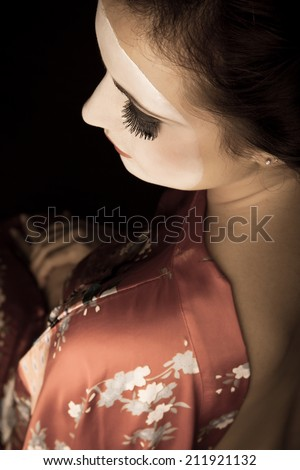 An image of a Japanese Geisha