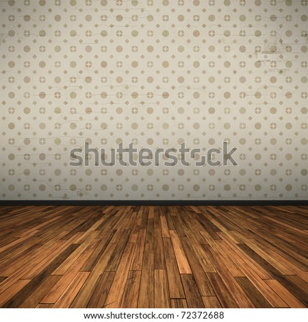 An image of a nice old floor for your content - stock photo