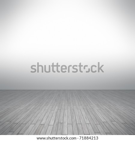An image of a nice white floor for your content - stock photo
