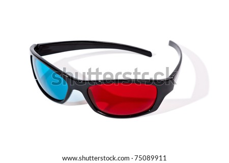 An image of a pair of 3D glasses