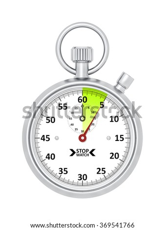 An image of a typical stopwatch 5 seconds