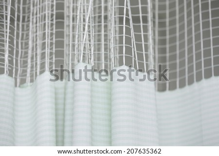 An Image of Curtain Of Hospital