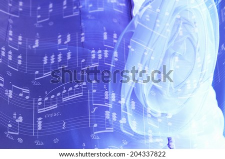 An Image of Dress And Music