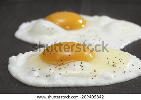 An Image of Fried Egg - stock photo