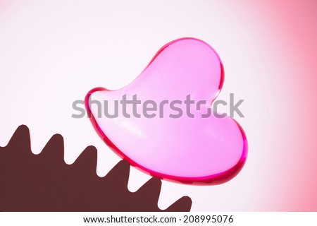An Image of Heart And Gear