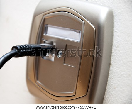 an image of internet plug