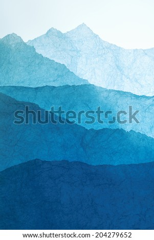 An Image of Japanese Paper - stock photo