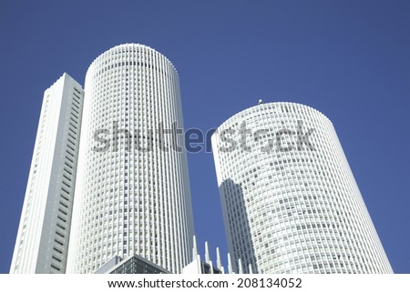 An image of Jr Central Towers - stock photo