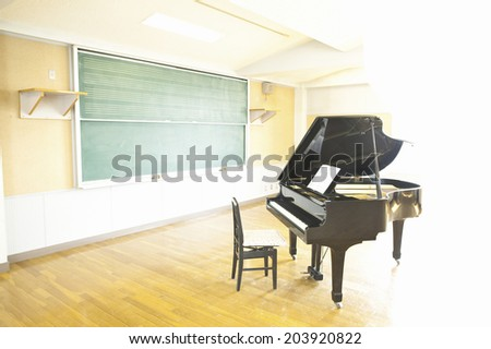An Image of Music Room - stock photo