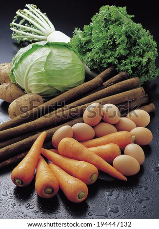 An image of Organic vegetables