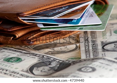 An image of purse with money