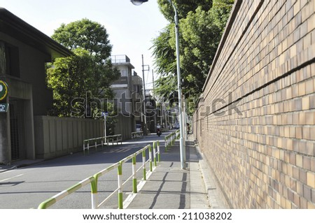 An Image of Rikugien - stock photo