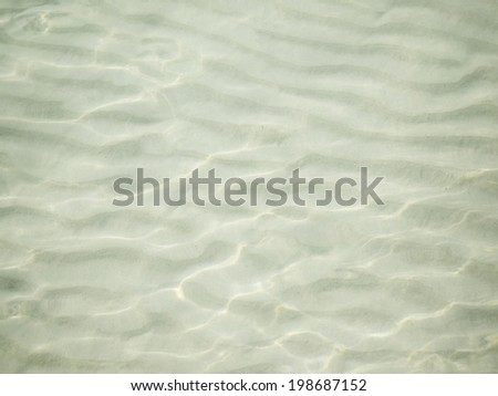 an image of sand under sea - stock photo