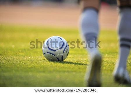 An Image of Soccer Ball