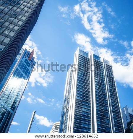 An image of some sky scraper in Sydney - stock photo