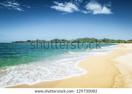 An image of the Magnetic Island Australia - stock photo
