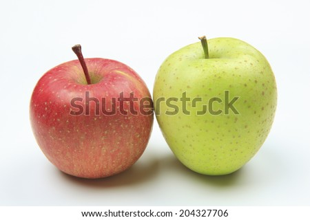 An Image of Two Apples