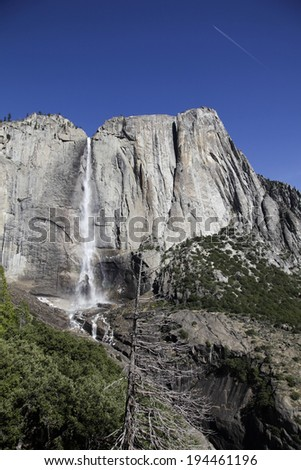 An image of Upper Yosemite Fall