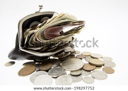 An Image of Wallet And Money
