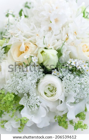 An Image of White Bouquet