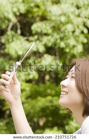 An Image of Woman Portrait - stock photo